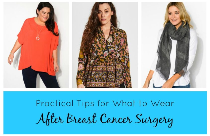 TO TOP IT ALL OFF, LADIES, POST MASTECTOMY CASUAL WEAR