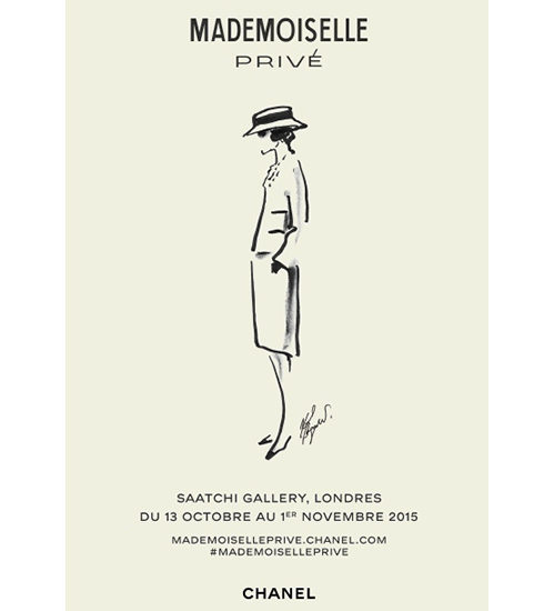 A NEW CHANEL EXHIBITION OPENS AT LONDON'S SAATCHI GALLERY: MADEMOISELLE PRIVÉ